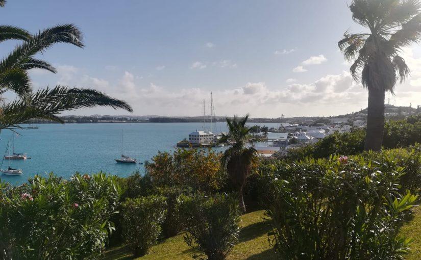 Paasmail van Esther vanaf Bermuda